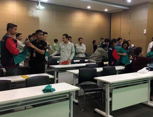 กิจกรรมอบรมการปฐมพยาบาลเบื้องต้นและ CPR บริษัท ทีโอเอ เพ้นท์ (ประเทศไทย) จำกัด