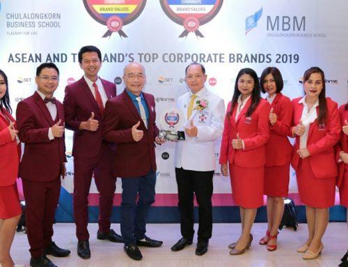 CHG สุดยอดแบรนด์องค์กร Thailand's Top Corporate Brands 2019